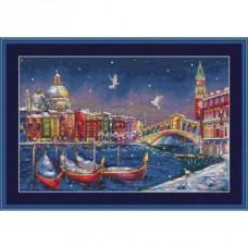 Набор для вышивания крестом Мережка K-29 Праздничная Венеция