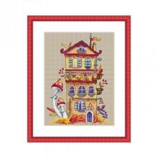 Набор для вышивания крестом Мережка K-54 Осенний домик