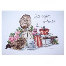 Набор для вышивания крестом Мережка К-83 Время пить кофе