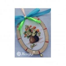 Набор для вышивания крестом Мережка M-001 Снежноягодник