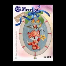 Набор для вышивания крестом Мережка M-004 Лисичка Ягодка