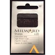 Иглы Milward 2121118 для ручного шитья острые №5-9 25 шт.