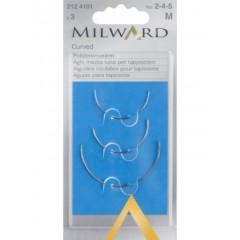 Иглы Milward 2124101 выгнутые №2,4,5 3 шт.