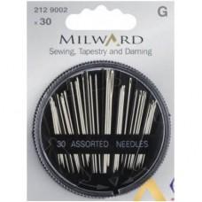 Набор игл Milward 2129002 гобеленовых и для штопки 30 шт.