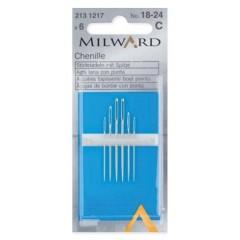 Иглы Milward 2131217 шенильные №18-24 6 шт.