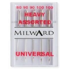 Иглы Milward 2141117 для швейных машин №80-100