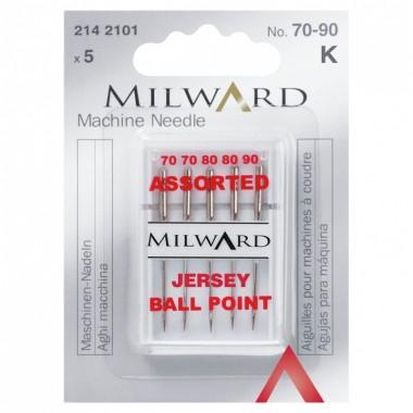 Иглы Milward 2142101 для швейных машин №70-90