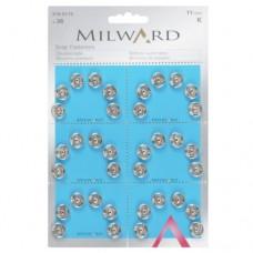 Пришивні кнопки Milward 2195113 11 мм 36 шт.