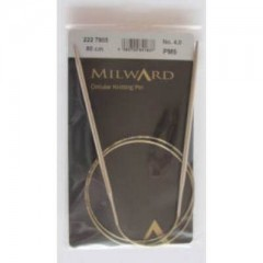 Спицы круговые 80 см Milward 2227805 4.0 мм