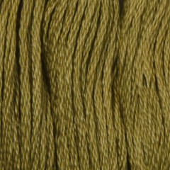 Мулине DMC 3045 Хлопок Yellow Beige - dk (Желтовато-бежевый, т.)