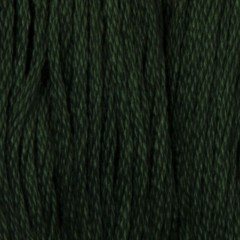 Мулине DMC 319 Хлопок Pistachio Green-vy dk (Фисташково-зеленый,оч.т.)