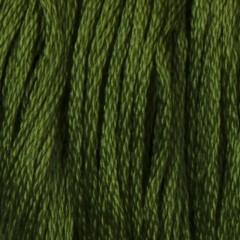 Мулине DMC 3346 Хлопок Hunter Green (Защитный, грязновато зеленый)