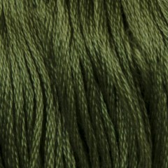 Мулине DMC 3363 Хлопок Pine Green - med (Сосновый, ср.)