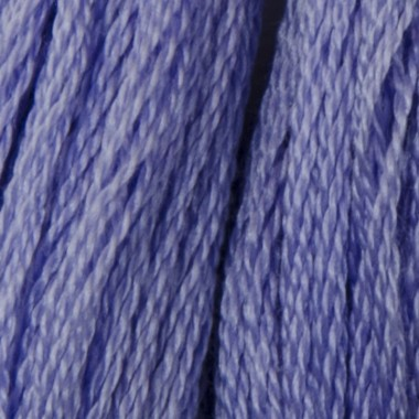 Мулине DMC 340 Хлопок Blue Violet-med (Сине-фиолетовый,ср.)