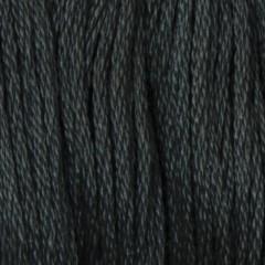 Мулине DMC 413 Хлопок Pewter Grey - dk (Оловянно серый, т.)