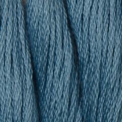 Мулине DMC 807 Хлопок Peacock Blue (Переливчатый синий)