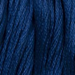 Мулине DMC 825 Хлопок Blue - dk (Синий, т.)