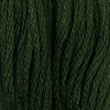 Мулине DMC 890 Хлопок Pistachio Green - ultra dk (Фисташково зеленый, ультра т.)