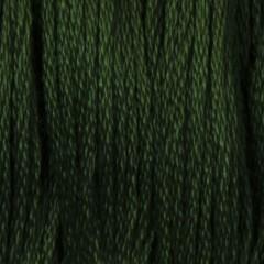 Мулине DMC 895 Хлопок Hunter Green - vy dk (Защитный, грязновато зеленый, оч.т.)