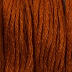 Мулине DMC 900 Хлопок Burnt Orange - dk (Оранжево-жженный, т.)