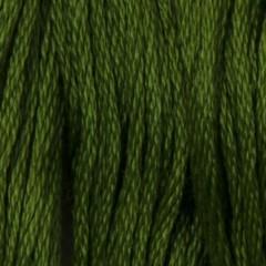 Мулине DMC 904 Хлопок Parrot Green - vy dk (Зеленый попугаевый, оч.т.)