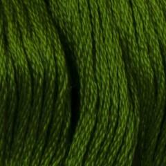 Мулине DMC 905 Хлопок Parrot Green - dk (Зеленый попугаевый, т.)