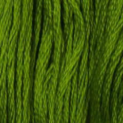 Мулине DMC 906 Хлопок Parrot Green - med (Зеленый попугаевый, ср.)
