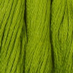 Мулине DMC 907 Хлопок Parrot Green - lt (Зеленый попугаевый, св.)
