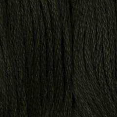 Мулине DMC 934 Хлопок Black Avocado Green - dk (Черно-зеленого авокадо, т.)