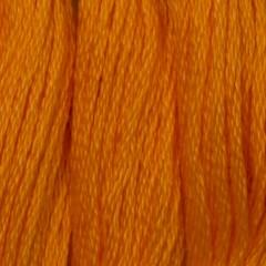 Мулине DMC 970 Хлопок Pumpkin - bright (Тыквенный, яркий)