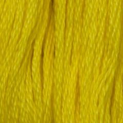 Мулине DMC 973 Хлопок Canary - bright (Канареечный, яркий)