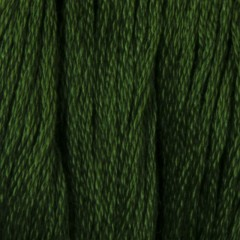 Мулине DMC 986 Хлопок Forest Green - vy dk (Зеленый лесной, оч.т.)