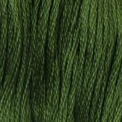 Мулине DMC 987 Хлопок Forest Green - dk (Зеленый лесной, т.)