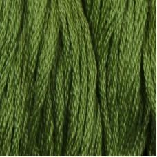 Мулине DMC 988 Хлопок Forest Green - med (Зеленый лесной, ср.)