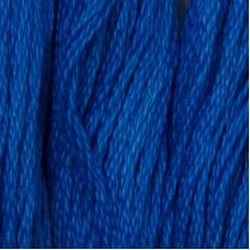 Мулине DMC 995 Хлопок Electric Blue - dk (Электрик синий, т.)