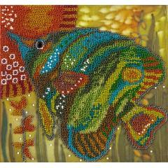"""Набор для вышивания Panna БН-5010 """"Зеленая рыбка"""""""