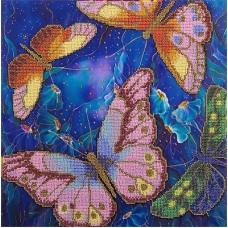 """Набор для вышивания Panna БН-5015 """"Бабочки в ночных цветах"""""""