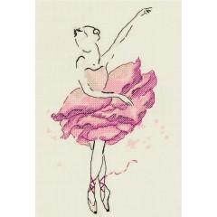 Набор для вышивания Panna С-7072 Балерина. Роза