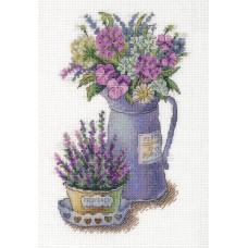 Набор для вышивки крестом Panna Ц-7125 Цветы Прованса
