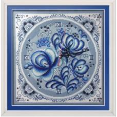 """Набор для вышивания Panna Ч-1622 """"Часы. Синие мечты"""""""