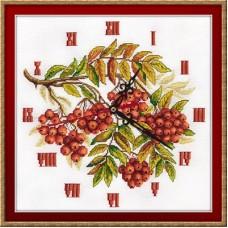"""Набор для вышивания Panna Ч-1770 """"Часы. Гроздья рябины"""""""