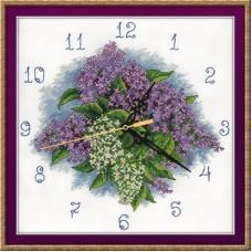 """Набор для вышивания Panna Ч-1771 """"Часы. Счастливый лепесток"""""""