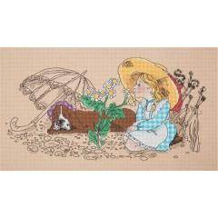 Набор для вышивки крестом Panna ДТ-7018 Ромашка