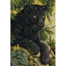 """Набор для вышивания Panna Ж-1697 """"Черный бархат джунглей"""""""