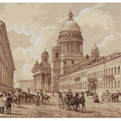 Набор для вышивания Panna ГМ-1908 Старый Петербург. Исаакиевский собор