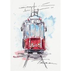 """Набор для вышивания Panna ГМ-1923 """"Городской трамвай"""""""