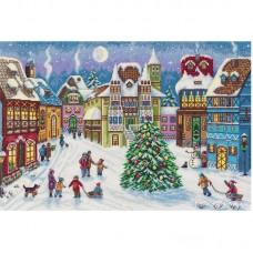 Набор для вышивания Panna ГМ-7095 Волшебный городок