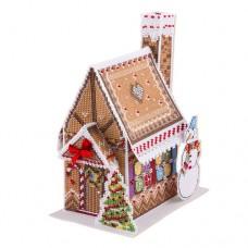 Набор для вышивания Panna ИГ-1743 Новогодний домик