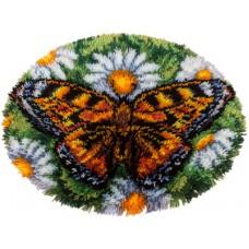 """Набір для вишивання Panna КИ-1583 """"Килимок Метелик"""""""