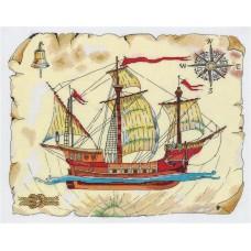 Набор для вышивания Panna КР-7069 Роза ветров